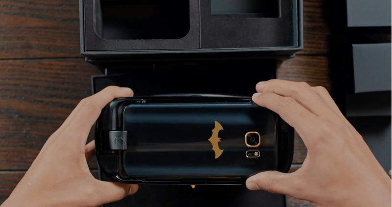 Elkészült Batman saját mobiltelefonja