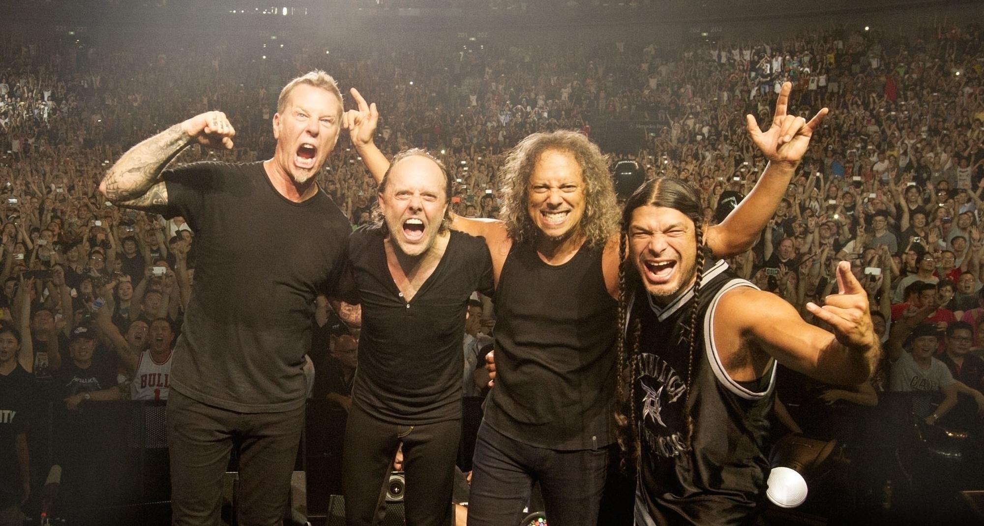 Elképesztő videó: az összes Metallica dal 4 percbe sűrítve