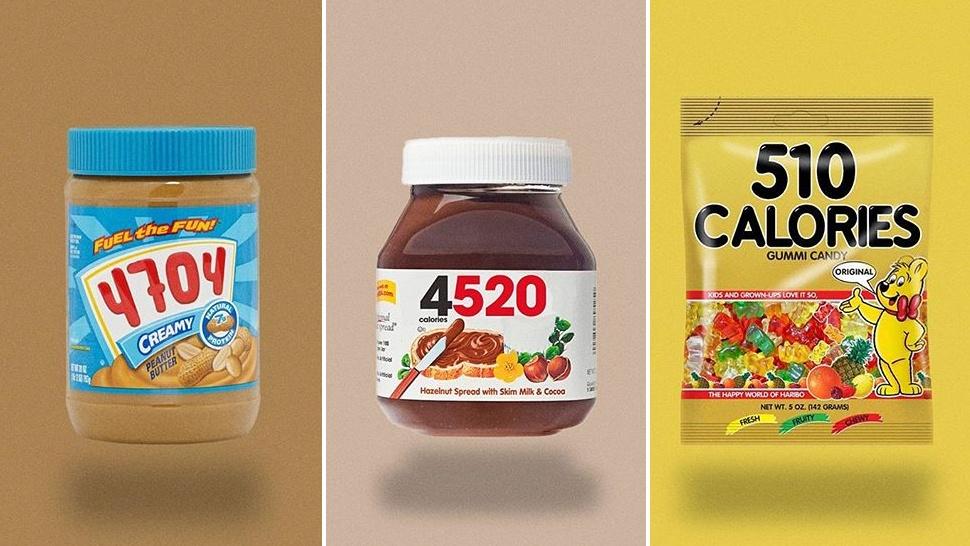 A kalóriát jelző csomagolás mindenkit elszomorítana