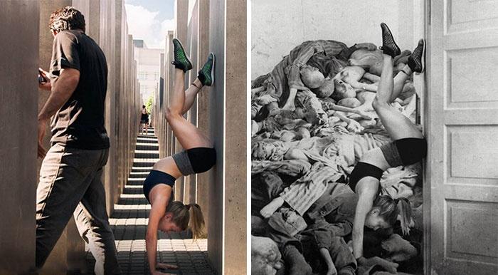 A berlini Holokauszt-emlékmű nem tréfa dolog!
