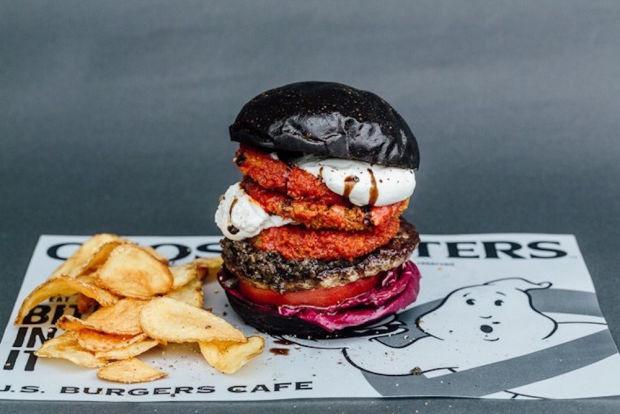 Te meg mernéd kóstolni a Szellemirtók hamburgert?