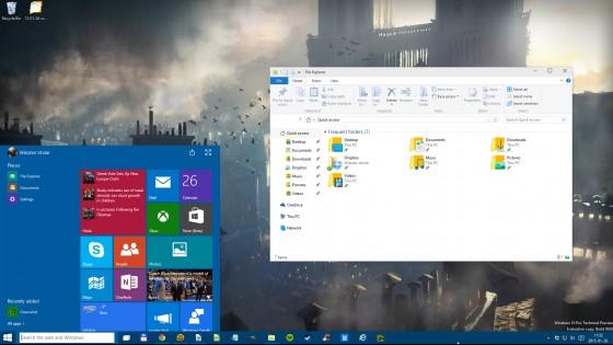 Tesztpadon a Windows 10 januári előzetese - fókusz
