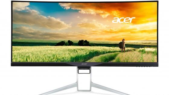 Óriási hajlított Acer monitor ínyenceknek - fókusz