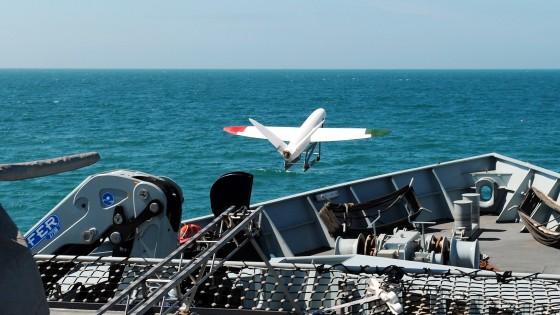 Így száll fel egy 3D-nyomtatott drón egy hadihajóról - fókusz