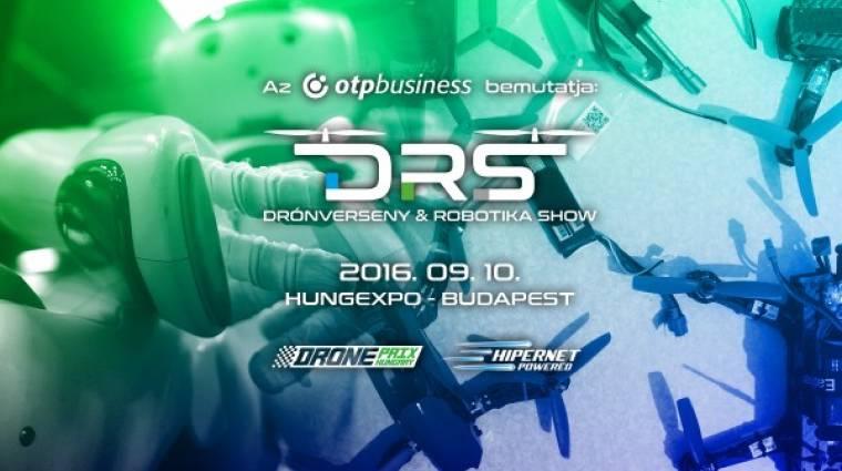 Drónverseny Robotikashow