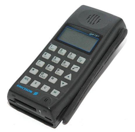 Ericsson GH 197 - a Westel 900-nál kapható első készülékek egyike volt