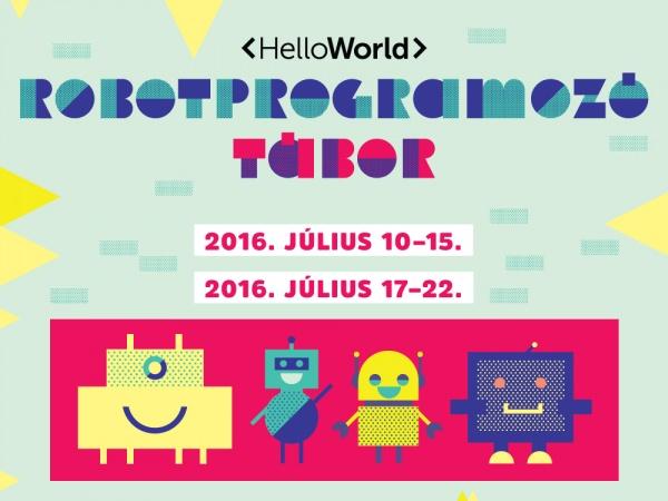 HelloWorld a legmenőbb robotprogramozó tábor!